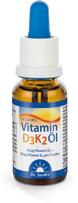 Dr Jacobs Vitamin-D3K2 angebot