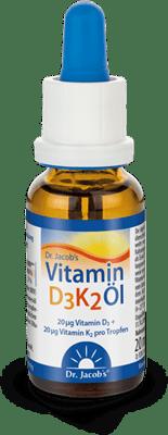 Dr Jacobs Vitamin-D3K2 angebot